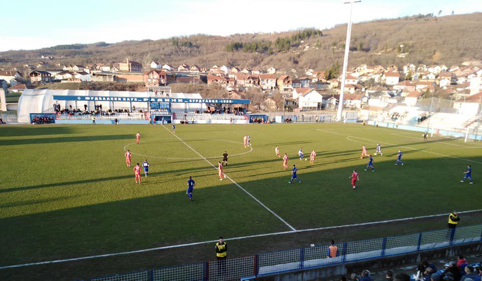 Detalj sa jedne od ranijih utakmica radnika i Voždovca. Foto FK Radnik