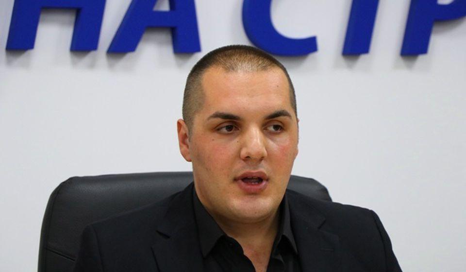 Stefan Filipović, koordinator Kancelarije za mlade grada Vranja. Foto VranjeNews