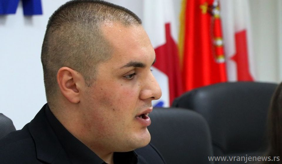 Stefan Filipović. Foto VranjeNews