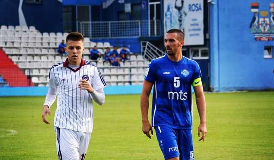 Dobro prošao: kapiten Surduličana Dušan Stevanović (desno). Foto FK Radnik