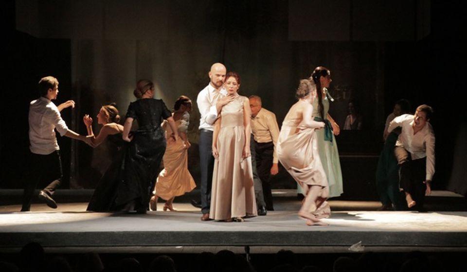 Detalj iz Nečiste krvi vranjskog teatra. Foto Vranje News