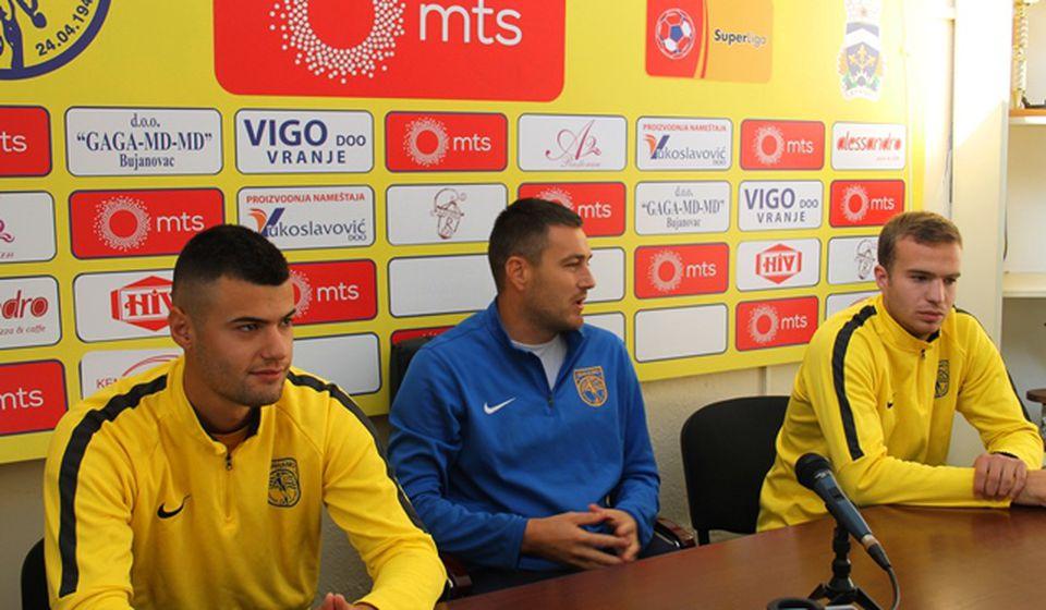 Detalj sa današnje konferencije za medije. Foto VranjeNews