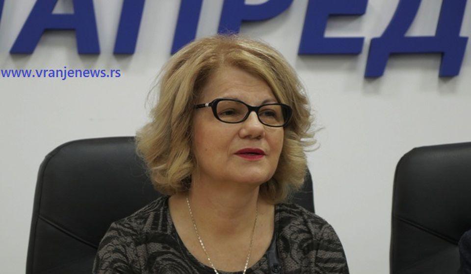Ljiljana Antić. Foto VranjeNews