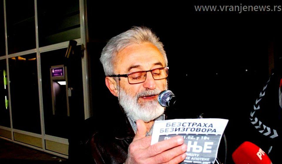 Radoman Irić. Foto Vranje News