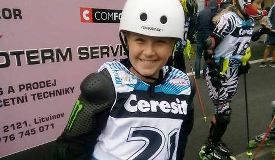 Vranjski roleraši uspešni u u Češkoj. Foto Ski klub Besna kobila