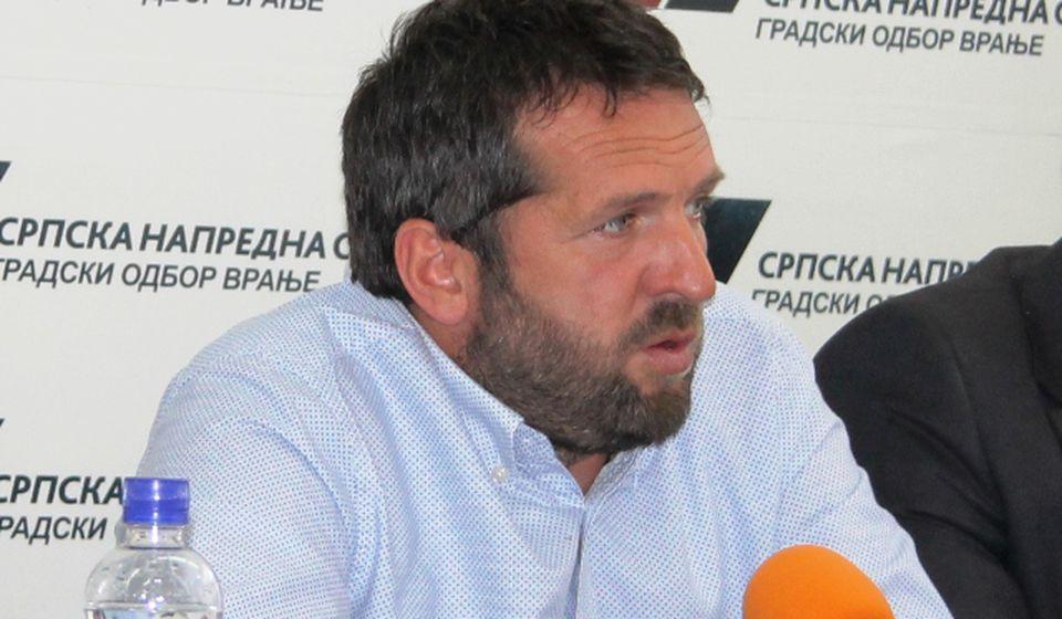 Stevanović je mnogo učinio za Vranje: Goran Nikolić. Foto VranjeNews