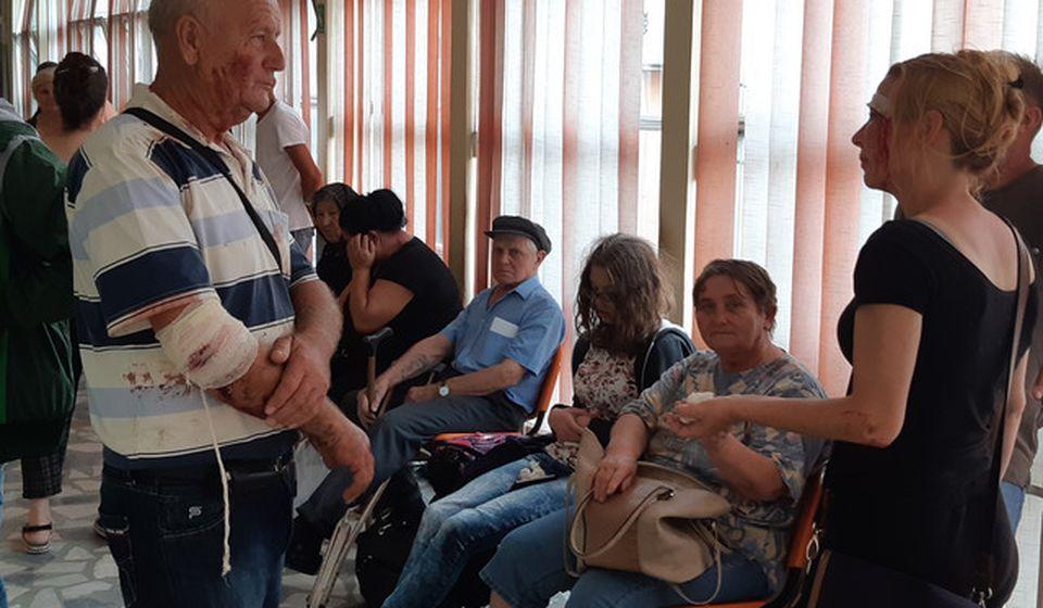 Povređeni su zbrinuti u leskovačkoj Opštoj bolnici. Foto Jugmedia