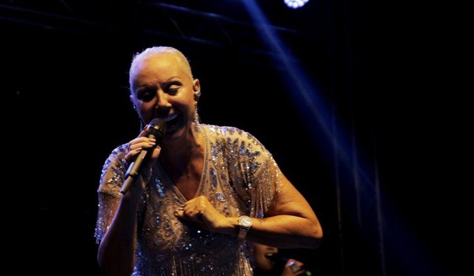 Lepa Brena na koncertu u Vranju. Foto VranjeNews