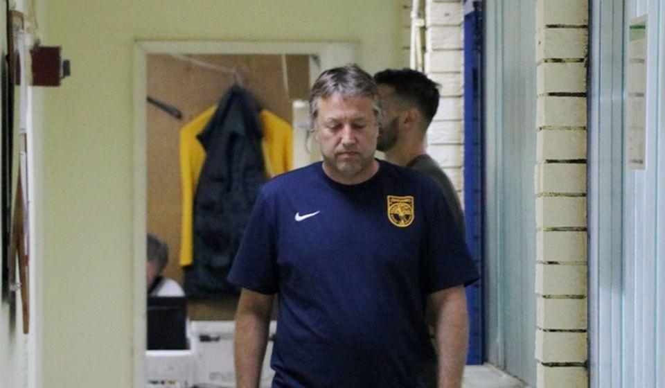 Uroš Kalinić, trener Dinama. Foto VranjeNews