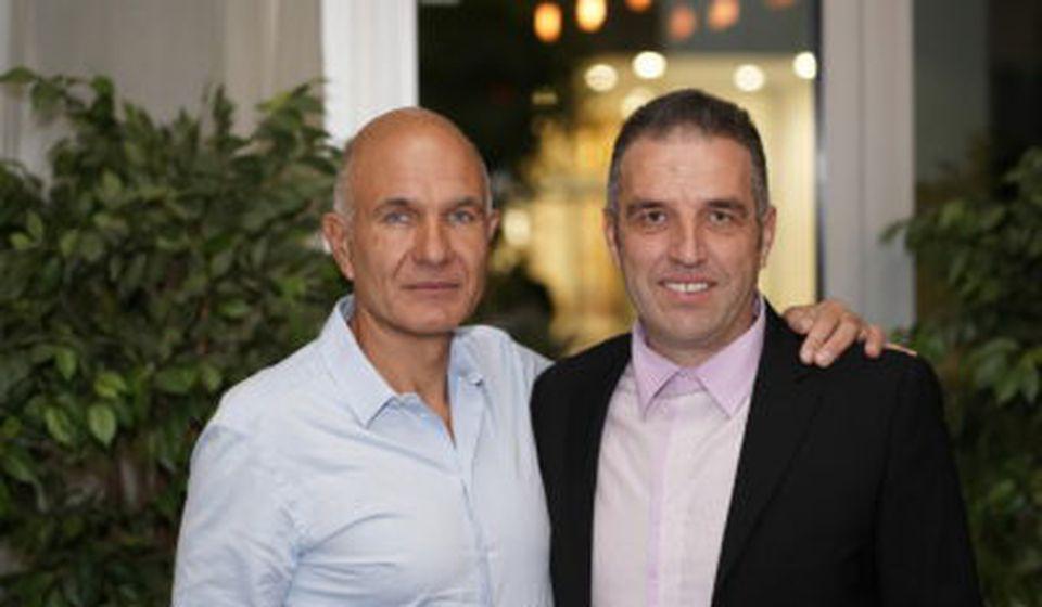 Nebojša (levo) i Boban Kovačević. Foto privatna arhiva