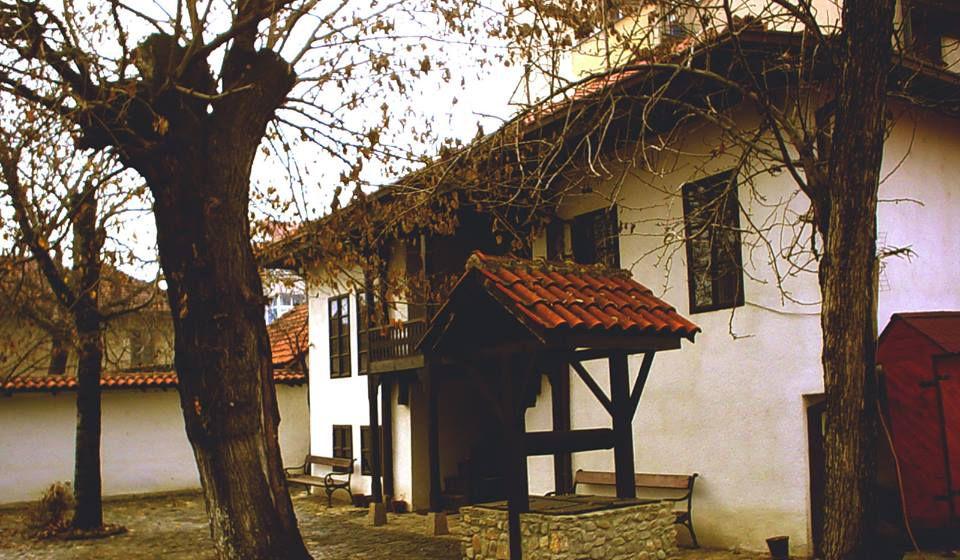 Dvorište Pribojčićeve kuće. Foto