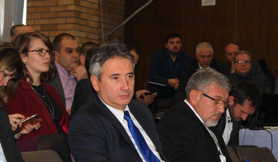 Slobodan Milenković na sednici Skupštine grada. Foto VranjeNews