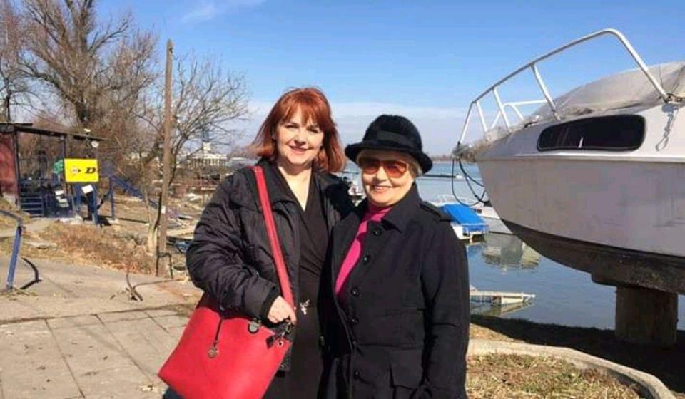 Slavica Stepanenko (desno) i Vesna Petric. Foto lična arhiva V. Petric