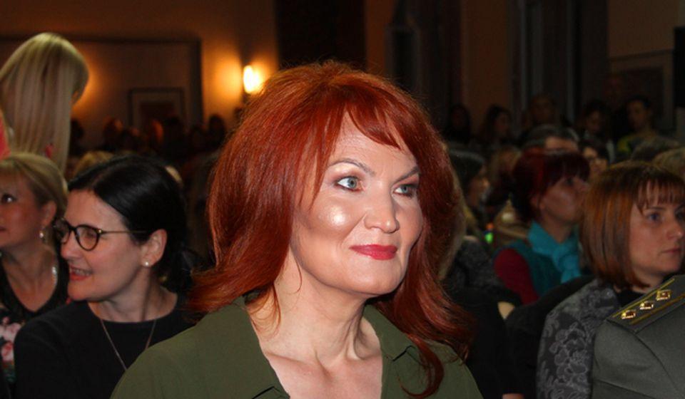 Brankica Damjanović u vranjskoj Gimnaziji. Foto VranjeNews
