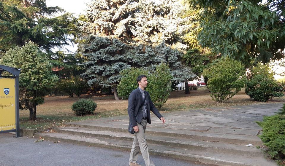 Gradski većnik za budžet i finansije Bojan Kostić. Foto Grad Vranje