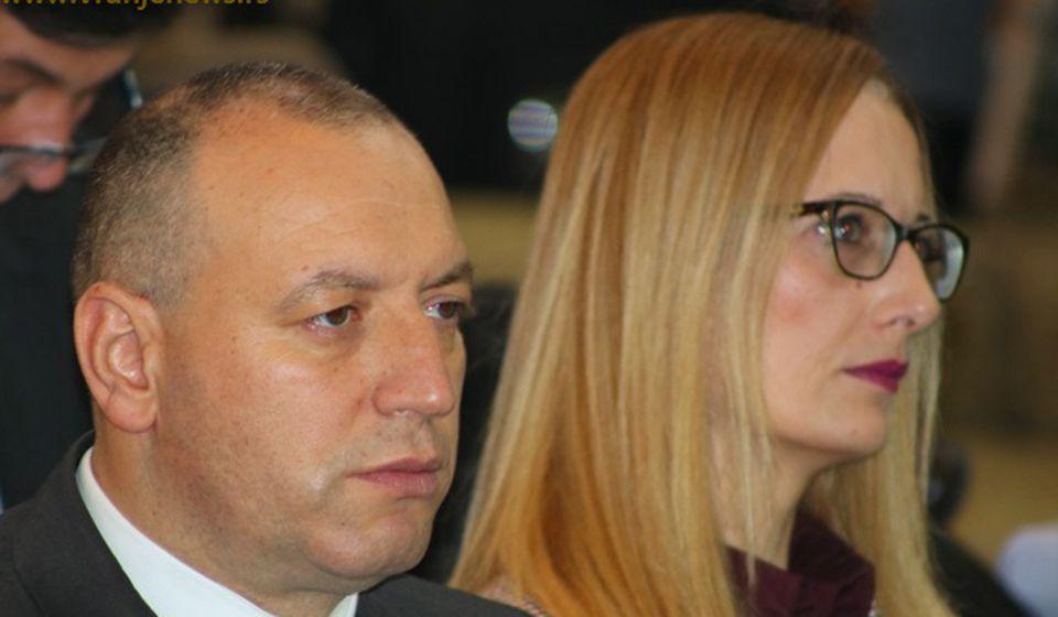 Dragan Sentić opet na čelu opštine, a Svetlana Cvetković na čelu skupštine u Vranjskoj Banji. Foto Vranje News