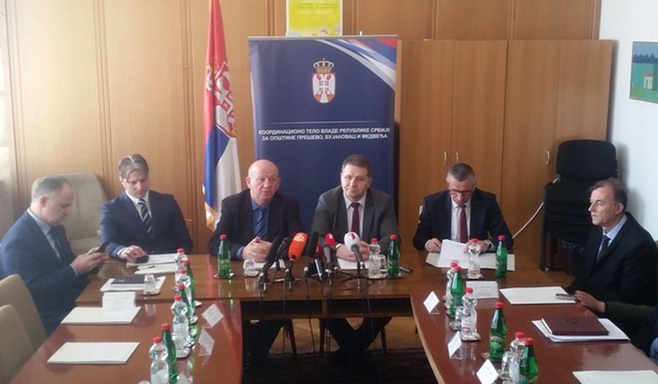 Foto Koordinaciono telo za jug Srbije
