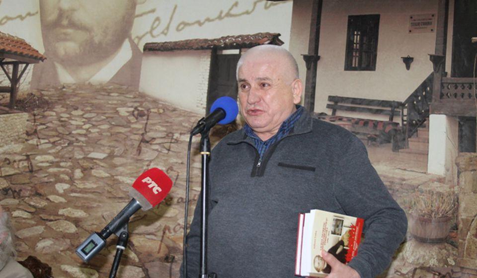 Izdajemo jedini književni časopis u srpskom rasejanju: Slavomir Gvozdenović. Foto VranjeNews