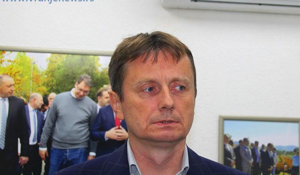 Darko Glišić. Foto Vranje News