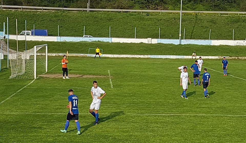Hančani bolji od favorizovanih Banjčana. Foto FK Morava, Fejsbuk