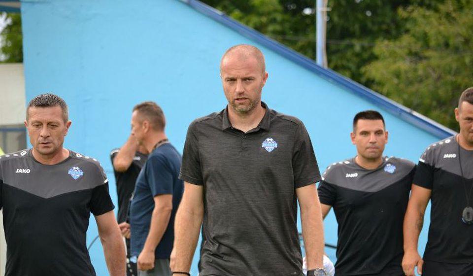 Igor Bondžulić sa saradnicima iz stručnog štaba Radnika. Foto D. Mirčev