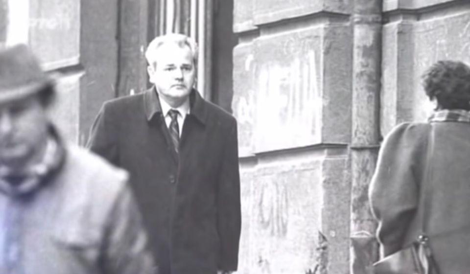 Slobodan Milošević. Foto printscreen RTS
