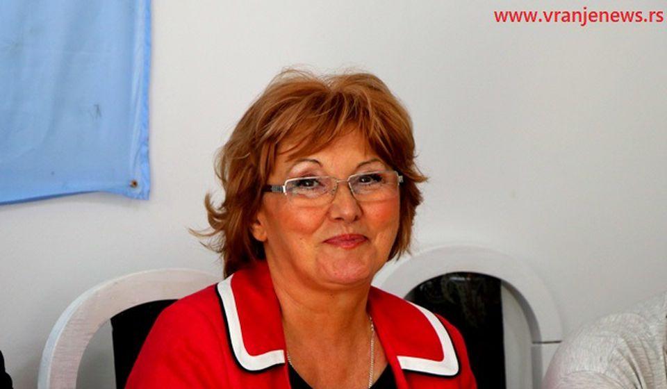 Lidija Tasić. Foto VranjeNews