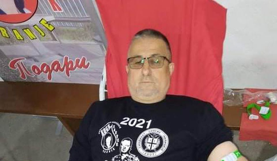 Jubilarac: Blagoje Kocić. Foto Koce zauvek
