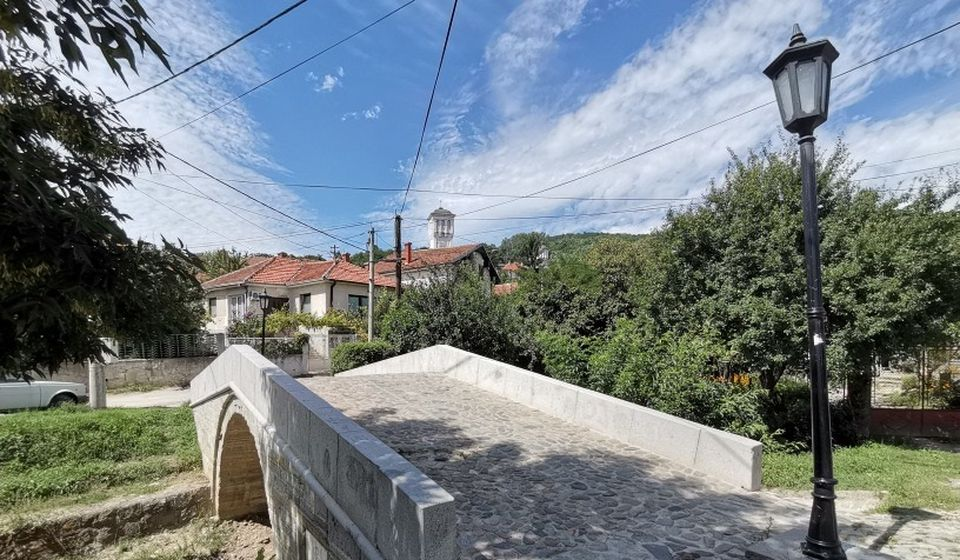 Beli most u Vranju. Foto Vranje News