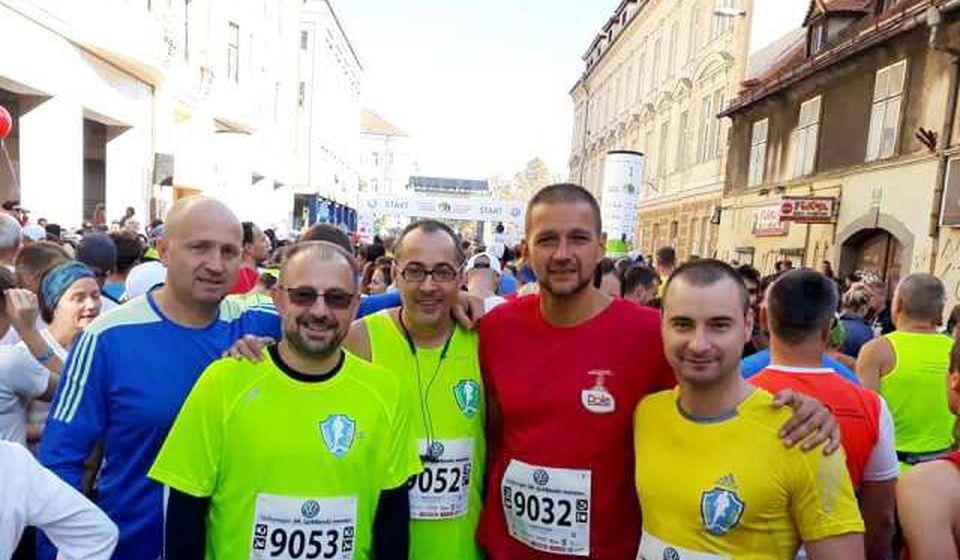 Vranjanci na Ljubljanskom maratonu. Foto AK Vranjski maratonci