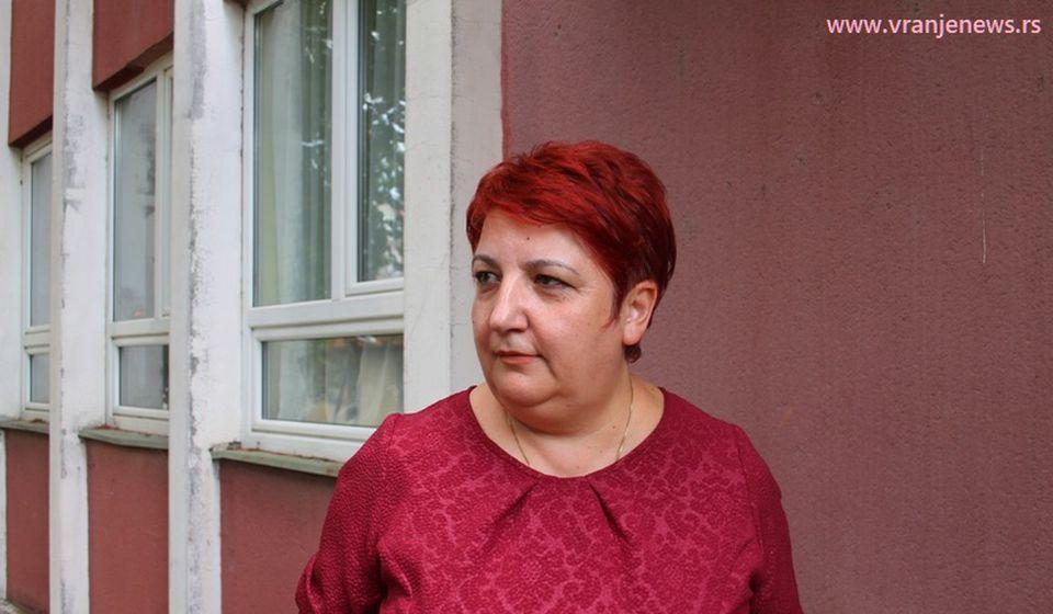 Blagi pad zaraženih obećava: direktoka ZZJZ Svetlana Stojanović. Foto Vranje News