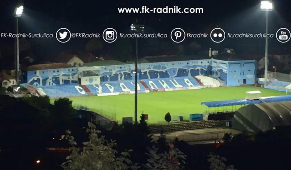 Može i ovde, odlučio FSS. Foto FK Radnik