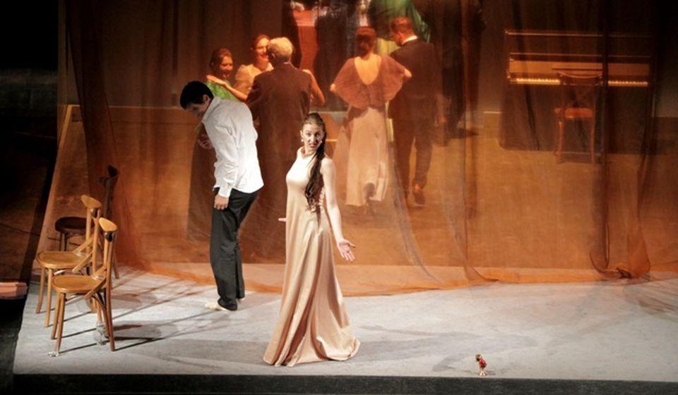Detalj iz predstave Nečista krv vranjskog teatra. Foto Vranje News