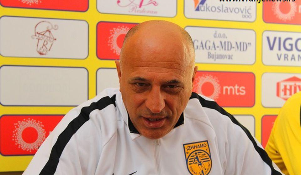 Očekivanja maksimalna: Dragan Antić. Foto VranjeNews