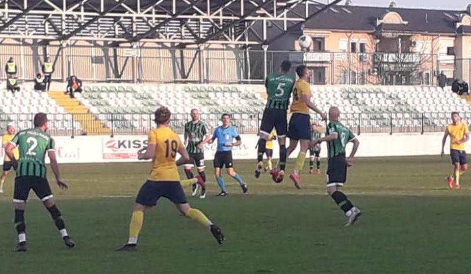 Detalj sa meča u Lazarevcu. Foto FK Dinamo