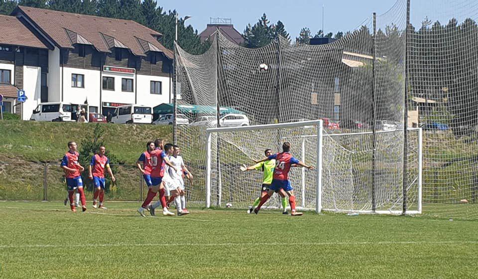 Detalj sa prethodne utakmice protiv banjalučkog Borca u kojoj je Radnik slavio sa 2:0. Foto FK Radnik