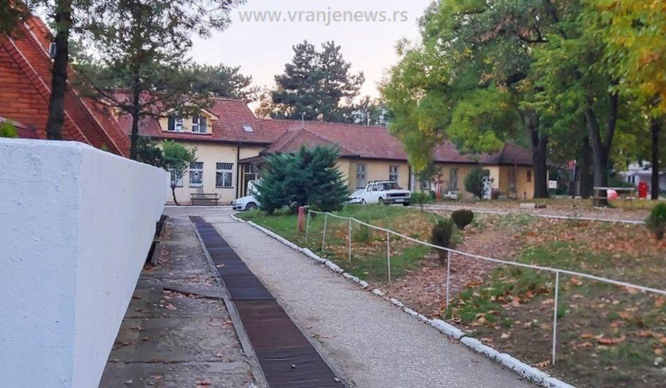 Odeljenje Psihijatrije - sada COVID bolnica u Vranju. Foto Vranje News