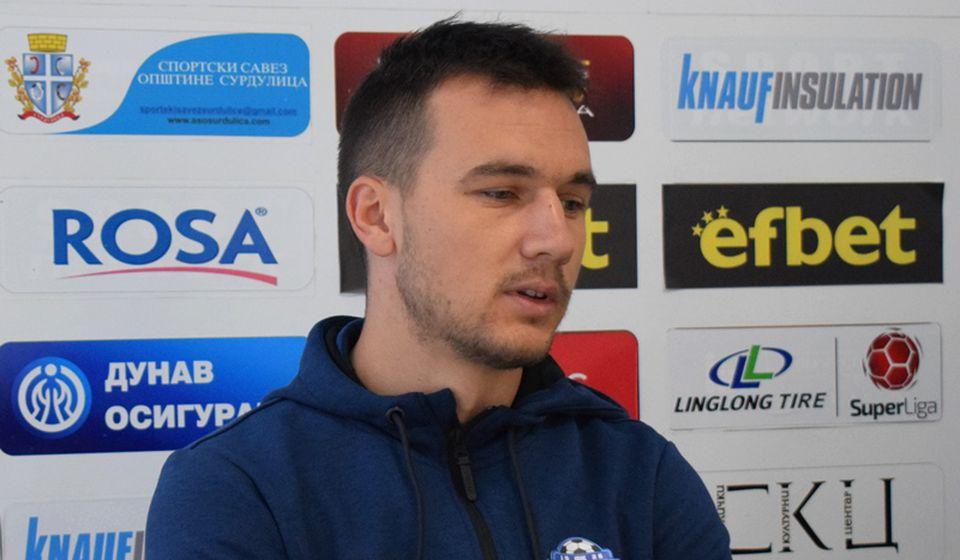 Vasilije Janjić se nada da bi on i njegovi saigrači mogli da iznenade lidera na tabeli. Foto D. Mirčev