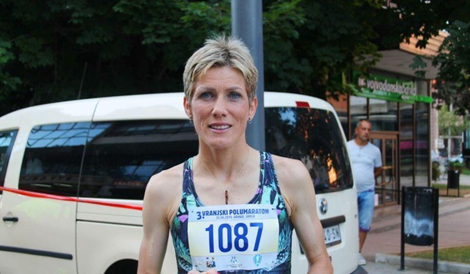 Najbolja srpska dugoprugašica svih vremena: Olivera Jeftić. Foto Vranje News