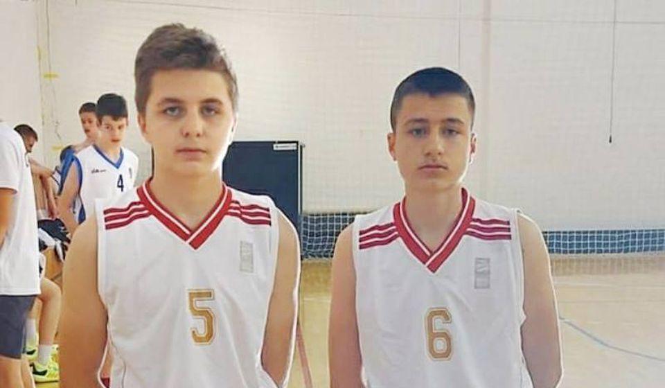 Jovan Kostić i Lazar Stošić. Foto KK Panteri