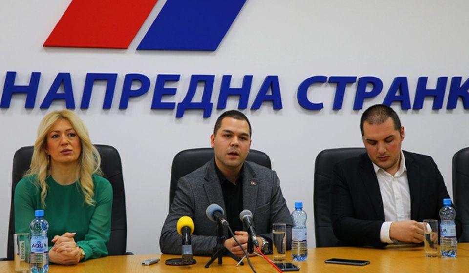 Detalj sa današnje konferencije za medije. Foto Vranje News
