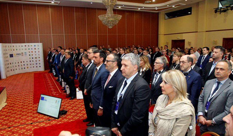 U Aranđelovcu obećana pomoć od 25 miliona evra za opštine i gradove u Srbiji. Foto Grad Vranje