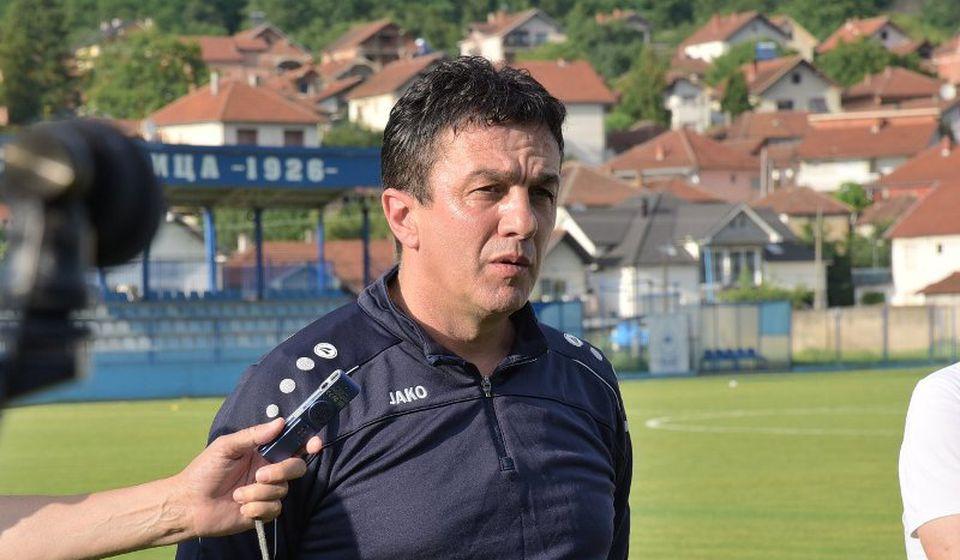 Svi moramo dati maksimum za nova tri boda: Simo Krunić. Foto FK Radnik
