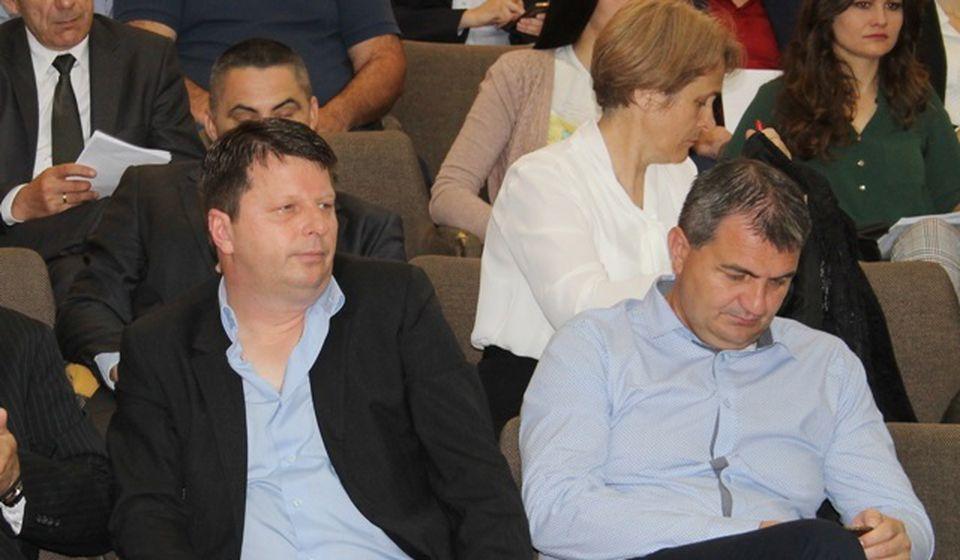 Napustili socijaliste: Dragan Janjić i Borivoje Antić (desno). Foto VranjeNews