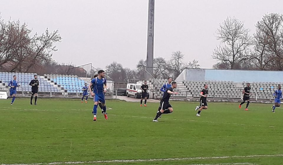 Detalj sa današnje utakmice u Jagodini. Foto FK Dinamo