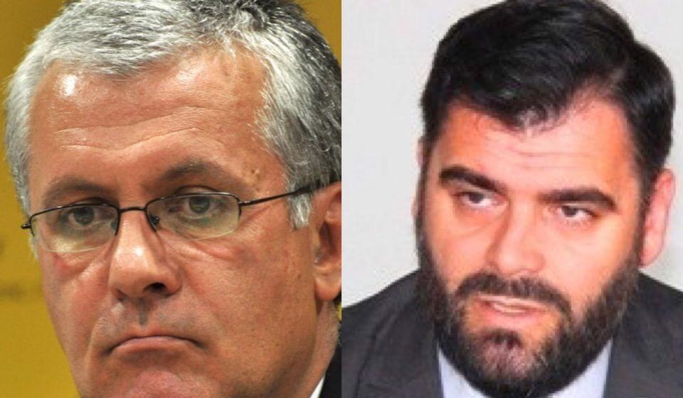 Dragan Nikolić (levo) i Ragmi Mustafa. Foto MC/Vranje News
