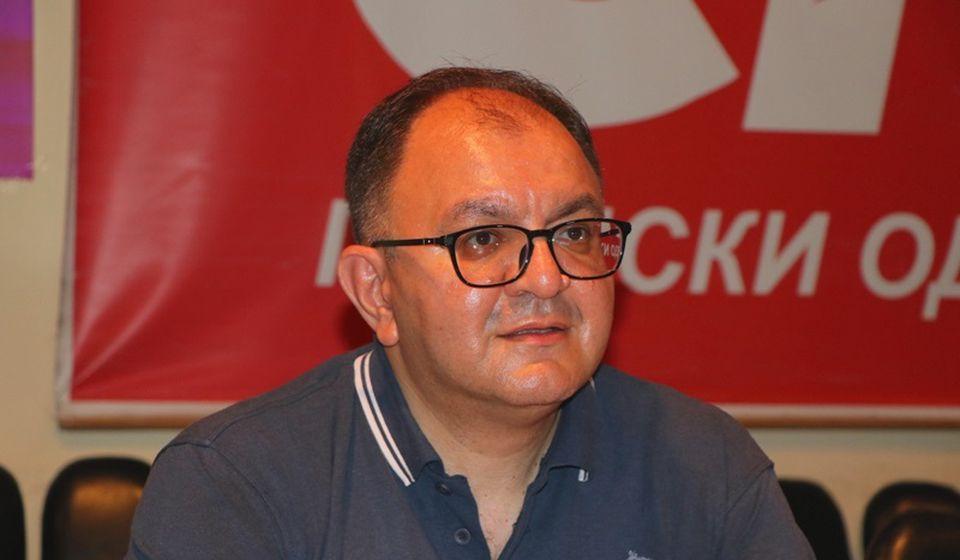 Republička lista sa JS na oko 20 odsto glasova: Zoran Antić. Foto Vranje News