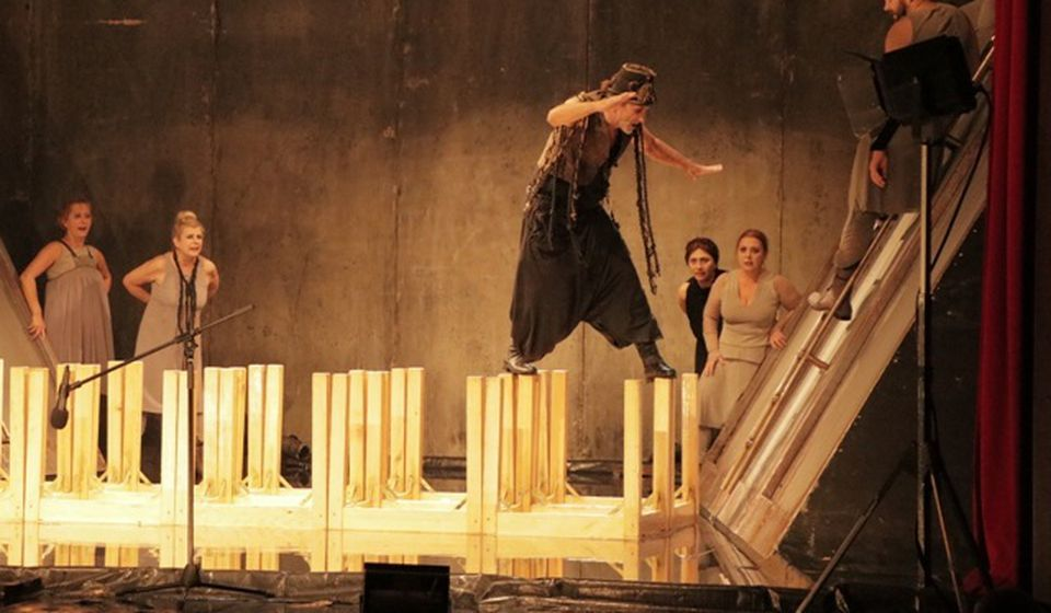 Detalj iz pobedničke predstave. Foto VranjeNews