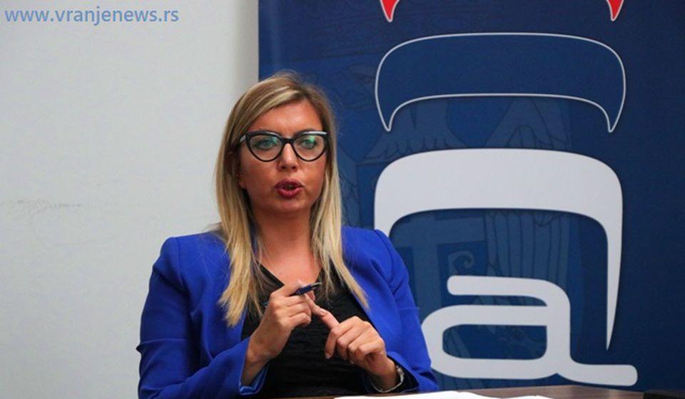 Ivana Milovanović, sudija iz Niša. Foto VranjeNews