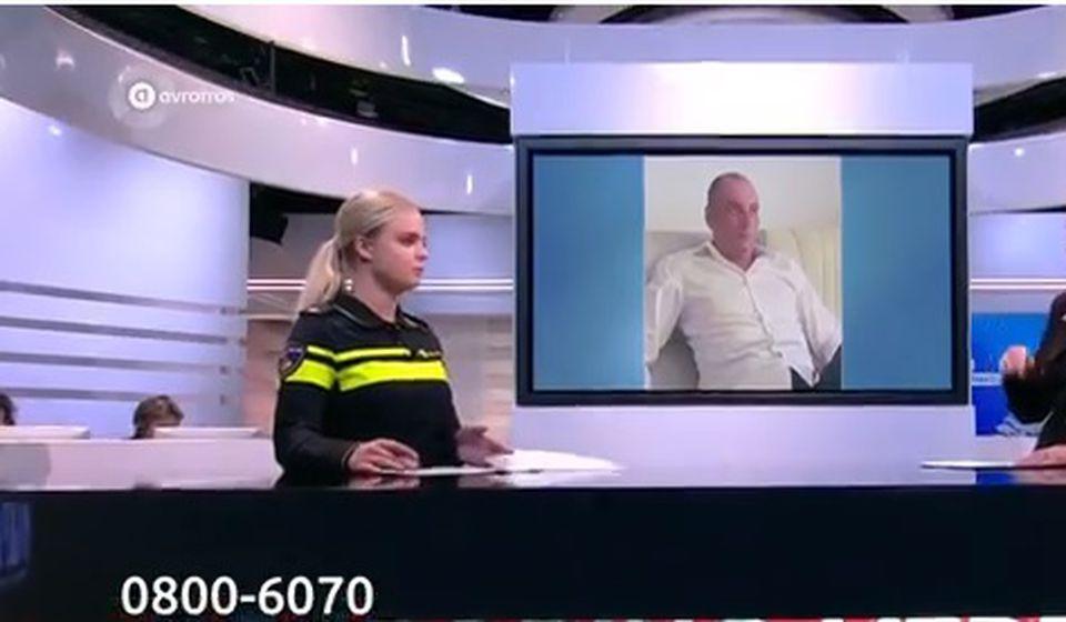 Detalj iz emisije holandske televizije. Foto screenshot